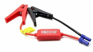 Replacement Jump Starter Connector Emergency Lead Cable Car Battery Booster Cl