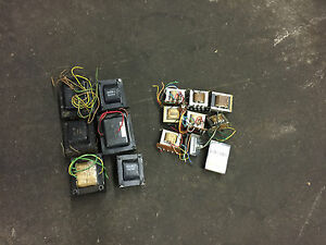 Lot Of 15 Miscellaneous Transformers used