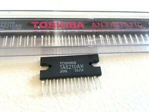 Ta8210ah 20w Btl 2 channel Audio Power Amplifier By Toshiba Lot Of 10
