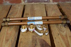 Lot Of 8 Assorted Plumbing Fittings
