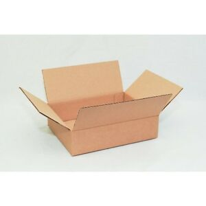100 11 1 4 X8 3 4 X 2 3 4 Cardboard Shipping Boxes Flat Corrugated Cartons
