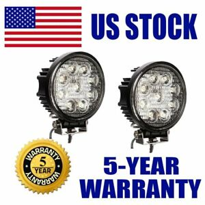 27w 5 Spot Led Work Light For Off Road Driving Fog Truck Atv Suv Boat 4wd Jeep