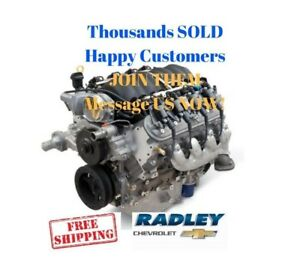 Gm Chevrolet Chevy Oem Performance Ls3 6 2l 376 430 Hp Gen Iv Engine 19301326