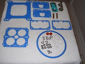 Holley 4150 Series Alcohol E 85 Carb Rebuild Kit For 550 600 Cfm Dp