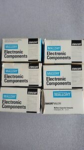Mallory Opm370 Capacitor 3 Mfd 370vac Lots Of 6