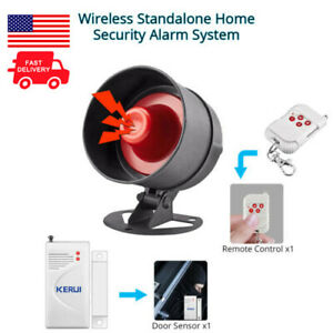 Anti theft Local Siren Alarm Home Security System With Door Sensor Motion Sensor