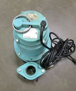 Little Giant 14eh cim High Head Submersible Sump Waste Water Trash Pump 115v 1ph