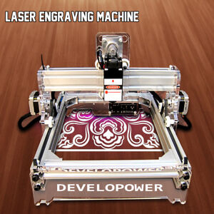 2000mw 2w Desktop Laser Engraver Diy Logo Mark Cutting Printer Engraving Machine