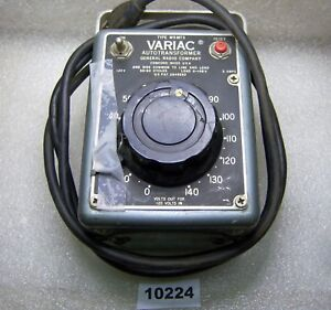 10224 General Radio Variac Autotransformer W5 Mt3