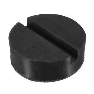 Universal Trolley Floor Jack Disk Pad Adapter Rubber Fit Pinch Weld Side Jackpad