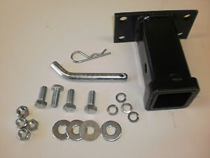 Dodge Ram Front Tow Hook 2 Receiver Hitch Truck Bumper 2 Tube