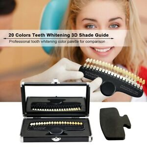 R 20 Dental Shade Guide Teeth Whitening Shade Guide Vita Shade Guide Bleaching