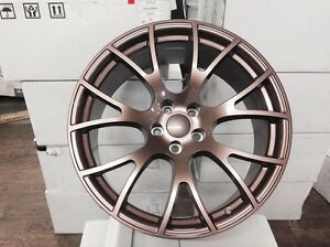 4 New Dodge Srt Hellcat 20 Copper Wheels Staggered Oe Challenger Charger