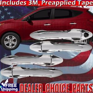 Fits 2010 2011 2012 2013 2014 2015 Hyundai Tucson Chrome Door Handle Covers Trim