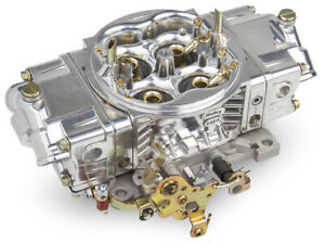 Holley Ho0 82751sa Carburetor 750cfm Street Hp 4 Barrel Shiny Alloy Finish