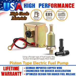 Carbole Low Pressure Electric Micro Fuel Pump Petrol Diesel 2 5 4psi 30gph 12v