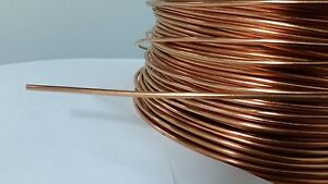 Soft Annealed Ground Wire Solid Bare Copper 8 Awg 50 Feet
