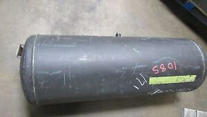 Used Mzt Hepos K 310 971 150 Liter 40 Gallon Steel Air Compressor Tank 10bar