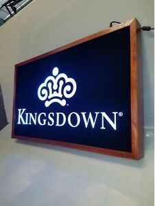Kingsdown Sign Led Light Box Sign 16 x24 x2