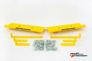 Hurricane V plow Yellow Air Foil Kit Powder Coat Finish