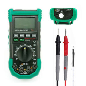 Tester Mastech Ms8229 5in1 Auto Range Digital Multimeter Dmm Sound Level