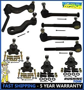 10 Pc Complete Steering Set Suspension Kit Chevrolet Gmc Truck Brand New Parts