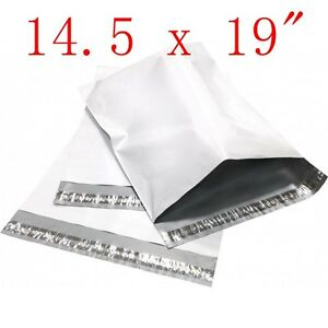 200 Pcs 14 5x19 Poly Mailers Shipping Envelopes Plastic Sealing Bags 2 35 Mil