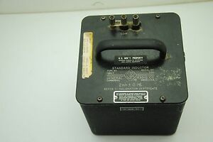 Vintage General Radio Gr 2mh 1 Standard Inductor Type 1482 f Serial 2510