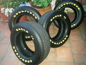 Goodyear Eagle 1 Yellow Letter Tires 255 60 15