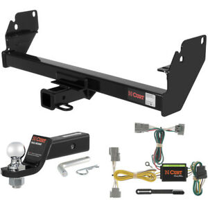 Curt Class 3 Trailer Hitch Tow Package With 2 Ball For 2005 2015 Toyota Tacoma