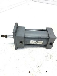 Used Parker Miller Hydraulic Cylinder Bore 2 50 Stroke 3 0 J 61bxn 570 Psi B293