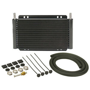 Derale 13502 Plate Fin Trans Cooler Kit 11 32in