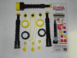 Gas Can Most Complete Kit Replacement Kit 3 Spouts And 7 Adapters To Fit Any Can