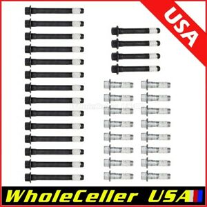 Gasket Cylinder Head Bolts For Chevy 283 305 327 350 377 383 400 406 5 7