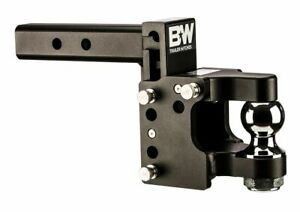 B W Tow Stow Adjustable Pintle Ball Mount Trailer Receiver Hitch Part Ts10056