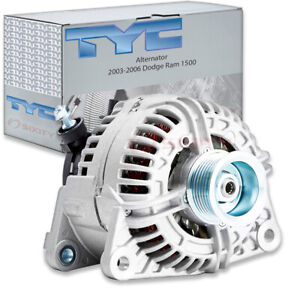 Tyc Alternator 2003 2006 Dodge Ram 1500 5 7l V8 Aw