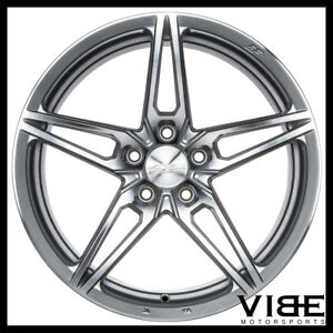 19 Ace Aff01 Flow Form Silver Concave Wheels Rims Fits Jaguar Xkr