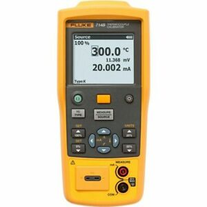 Fluke 714b Temperature Calibrator Measure 4 To 20ma Signals