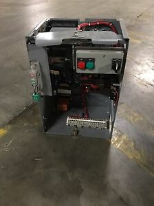 Square D Model 6 Motor Control Center Bucket Size 2 100amp W H o a Control