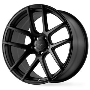 19 Velgen Vmb5 Black Concave Wheels Rims Fits Ford Mustang Gt Gt500