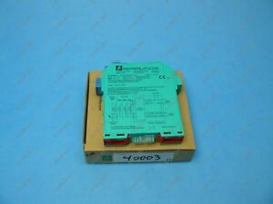 Pepperl Fuchs Kfd2 ut ex1 Thermocouple Signal Converter 1 Channel 24 Vdc New