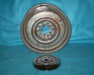 New Wheels Of Steel 6x15 5x100mm 5x115mm Steel Wheel Baby Moon Nos