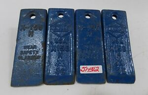 Henshaw Backhoe Replacement Teeth X 156 Lot Of 4