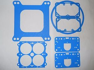 Holley Double Pumper Blue Gasket Kit For 550 600 Cfm Carbs