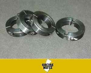 4 1 5 8 Double Split Steel New Clamping Shaft Collar Black Oxide Sc162d