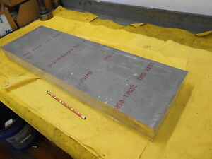 7050 Aluminum Flat Stock Machine Shop Bar Sheet Plate 2 1 2 X 9 X 29 Kaiser