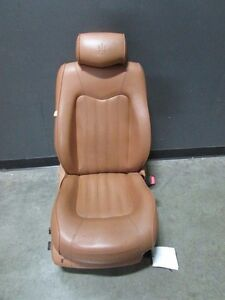 Maserati Quattroporte Rh Right Front Seat Cuoio Without Airbag Used