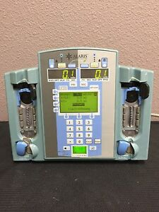 Alaris 7230 Ivac Signature Edition Gold Dual Channel Infusion Pump