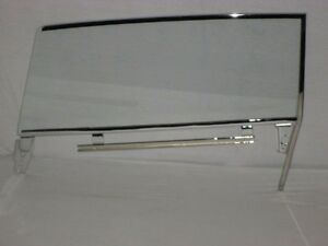 1962 Chevrolet Pontiac 2 Door Hardtop Clear Assembled Right Passenger Door Glass