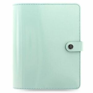Filofax The Original A5 Organiser Duck Egg Blue Patent Leather Finish With Diary